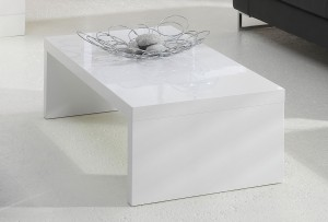 Table basse blanc laqu ma table basse - Table basse blanc laquee pas cher ...