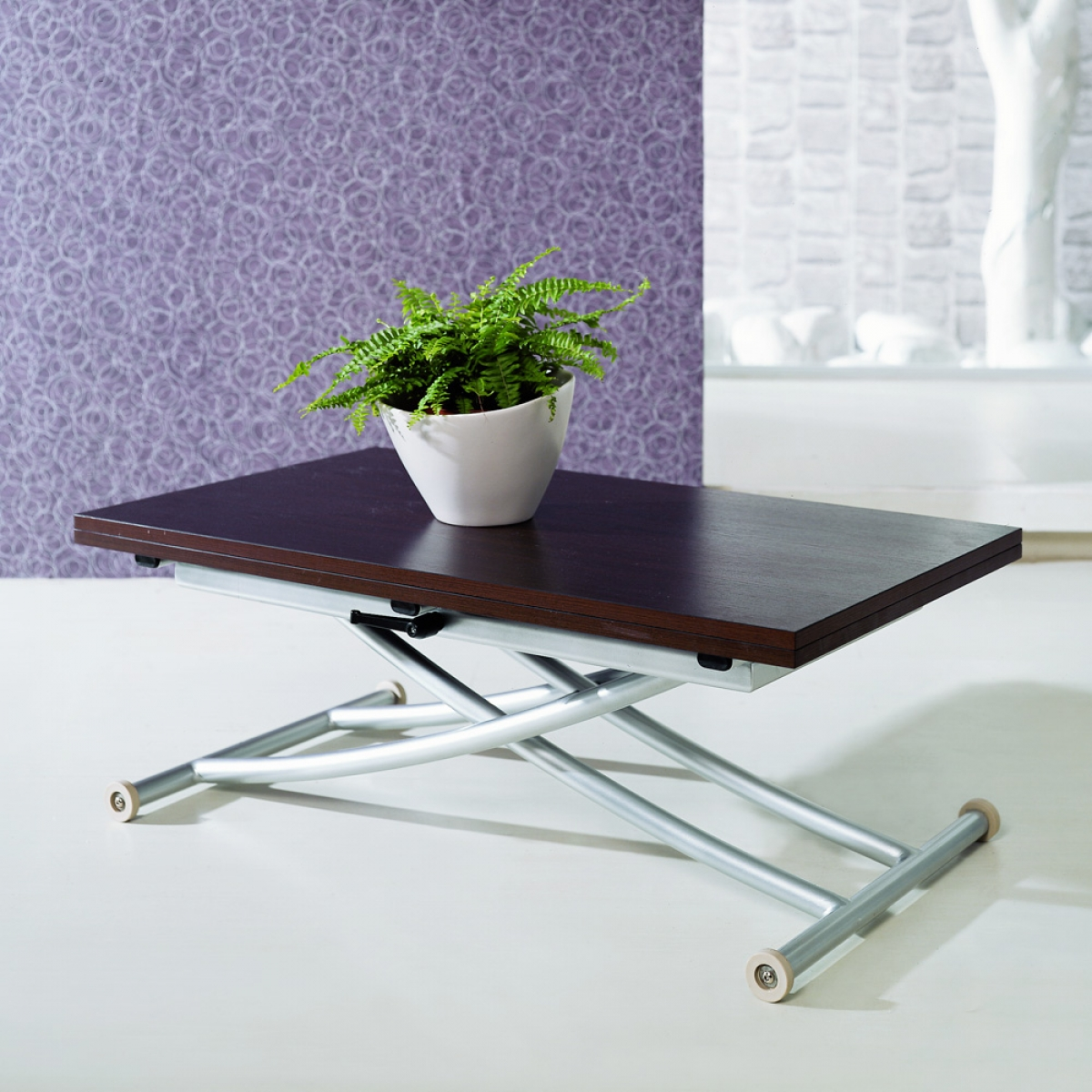 Table basse relevable ma table basse for Table salon rallonge