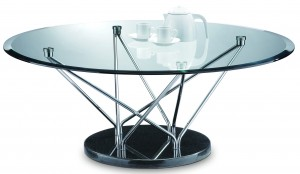 Table basse ronde Alba