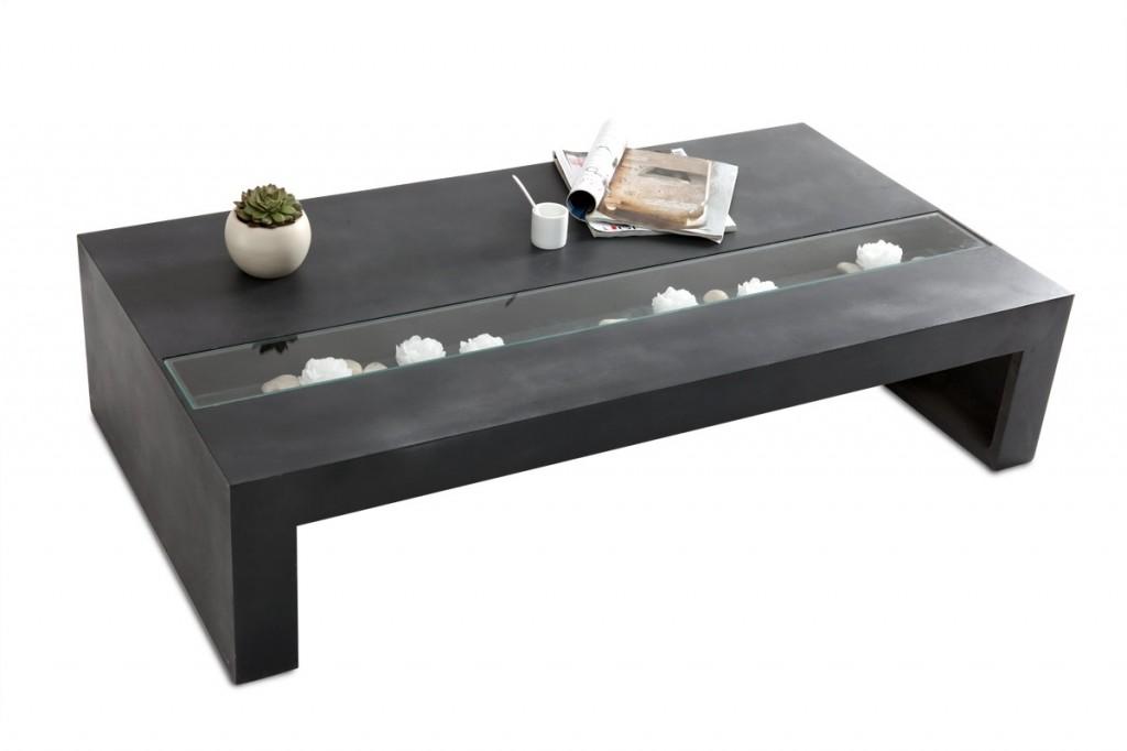 Table basse design Beton Wilmer