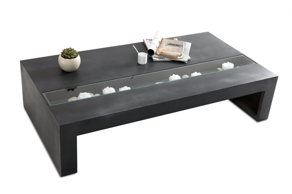 Table basse salon moderne design - Table salon la redoute ...