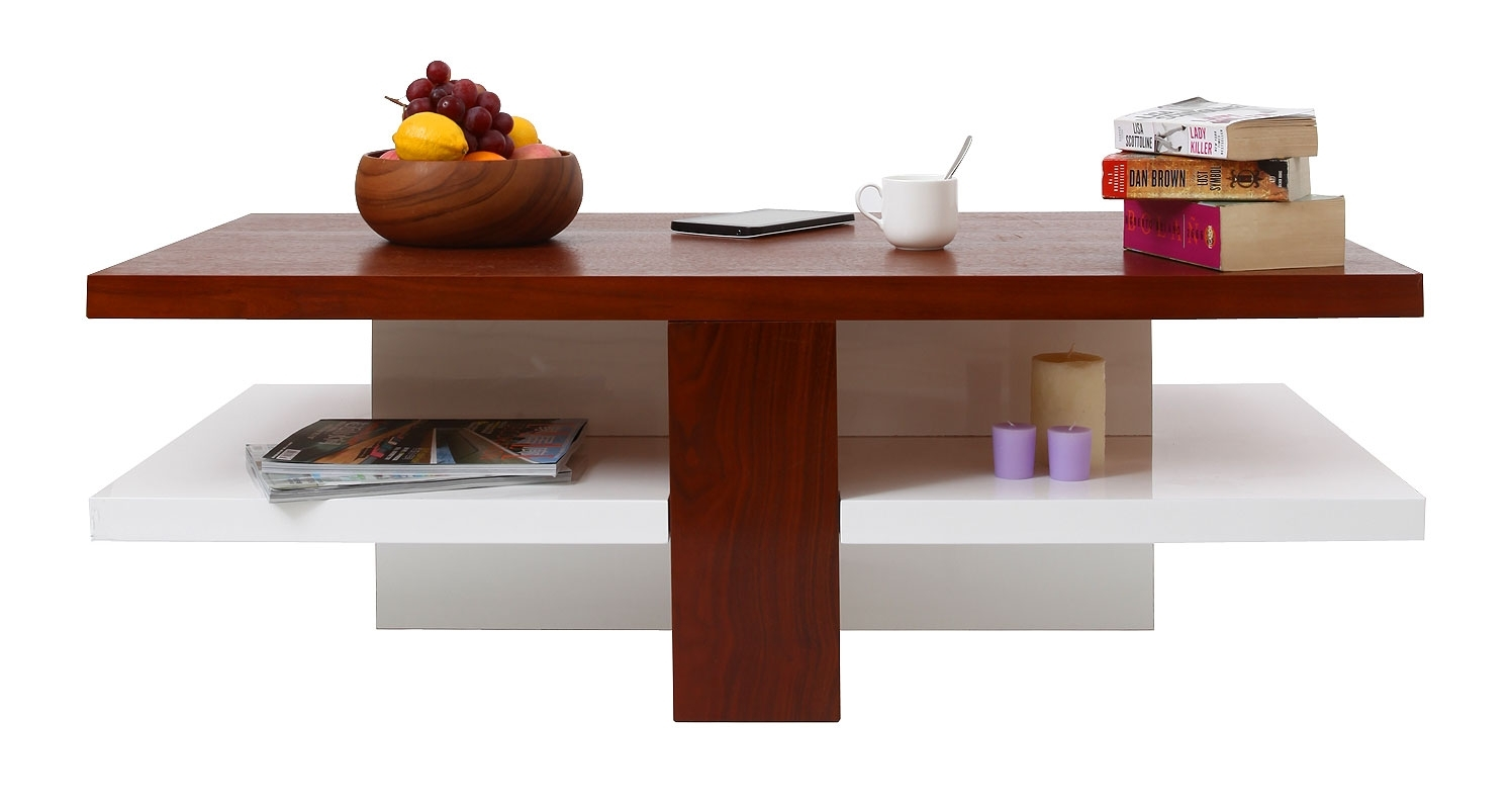 Pourquoi choisir une table basse contemporaine - Table basse de salon en bois ...