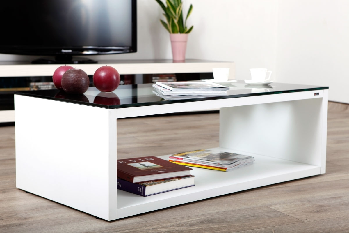 Pourquoi choisir une table basse contemporaine - Table basse contemporaine en verre ...