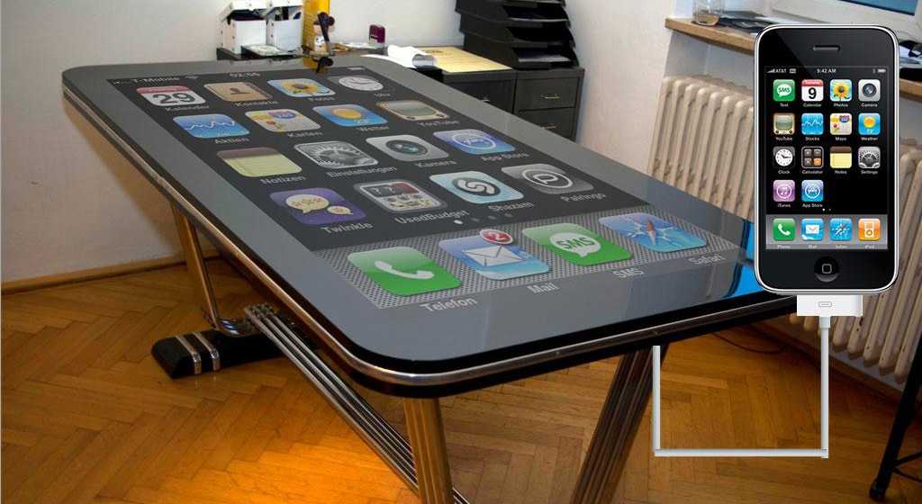 Table basse iPhone