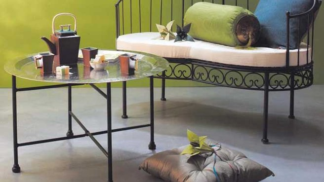 Créer une table basse