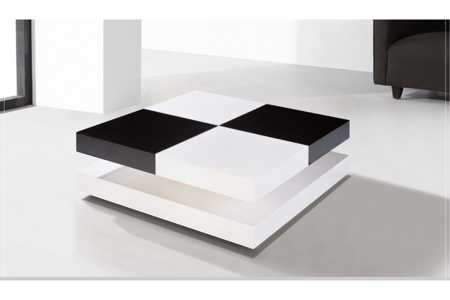 Les dimensions id ales pour une table basse design - Table basse design blanc ...