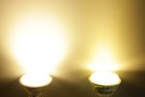 éclairage led blanc chaud léger