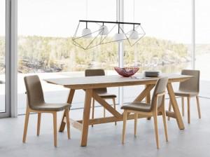 éclairage led pour table en bois