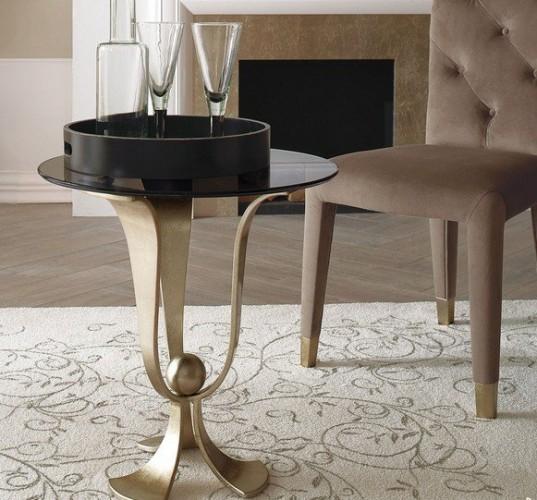 table-dappoint-ronde-design-moderne-salon