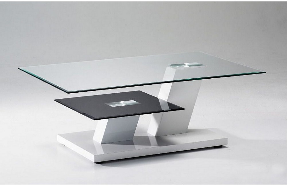 Comment nettoyer une table basse en verre for Table de television en verre