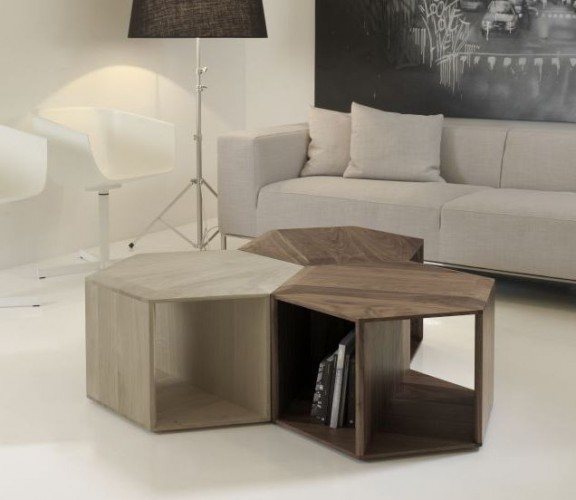 quelle table basse pour un salon vintage. Black Bedroom Furniture Sets. Home Design Ideas