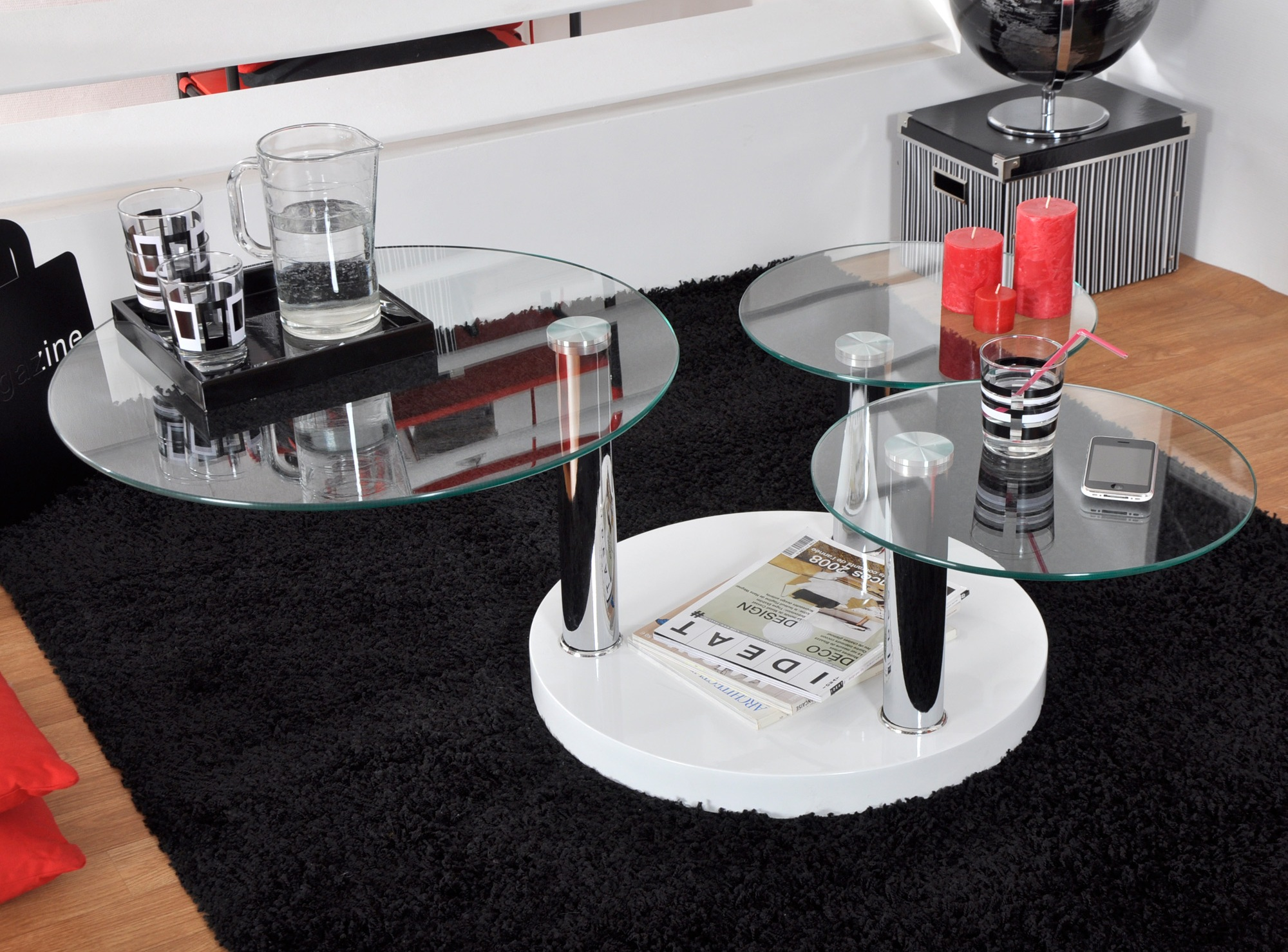 comment choisir sa table en verre. Black Bedroom Furniture Sets. Home Design Ideas