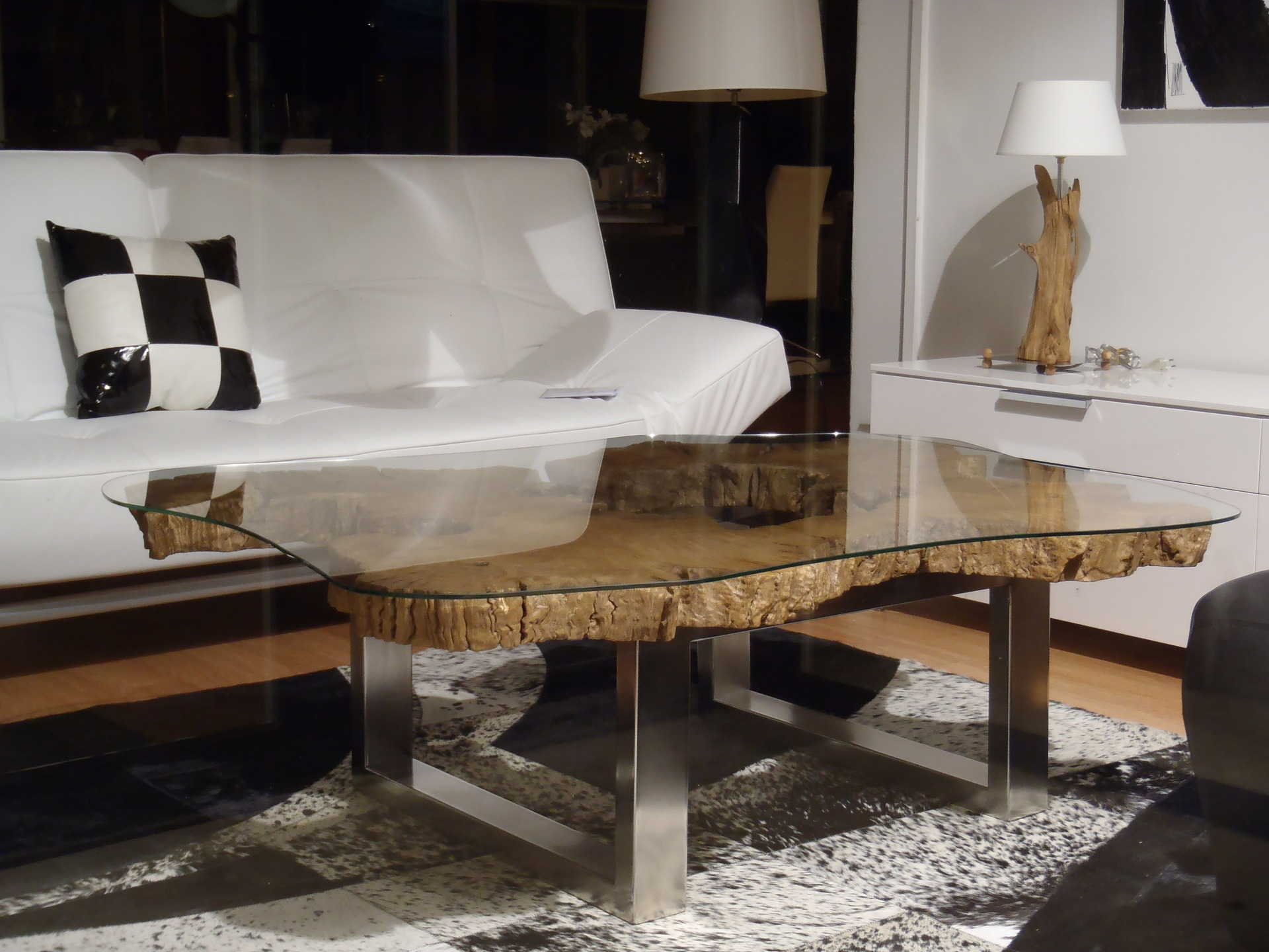 Table basse contemporaine apportez une touche de modernit votre salon - Table salon contemporaine ...