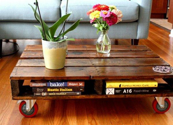 table-basse-en-palette-salon-jardin-fleurs-livres1-600x433