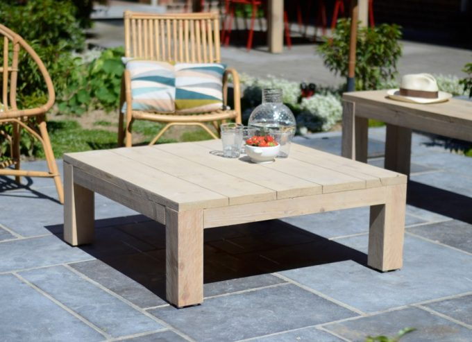 Les tables basses d 39 ext rieur - Table basse jardin d ulysse ...