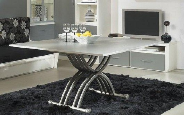 le m canisme d 39 une table basse relevable. Black Bedroom Furniture Sets. Home Design Ideas