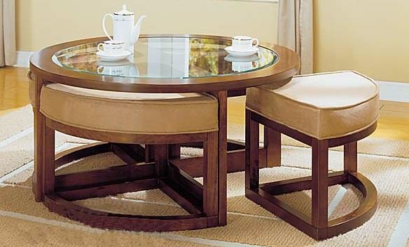 Comment entretenir une table basse en bois - Proteger une table en bois brut ...